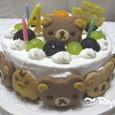 リラックマのバースデーケーキ