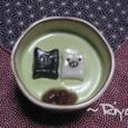 ふわふわ抹茶ぷりん&モノクロブー白玉