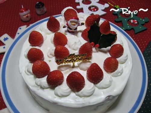 苺のクリスマスケーキ(2007)
