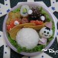 【雪のお弁当】の小坊主ズームアップ~プチオフ会~