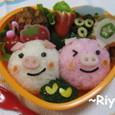 ぶたちゃんのお弁当(京都新聞「週刊T&T」掲載)