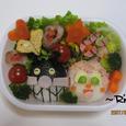 22.バイキンマン&ドキンちゃん弁当