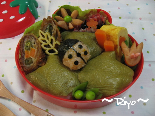 てんとう虫のお弁当~親子遠足弁当~【ママ弁】