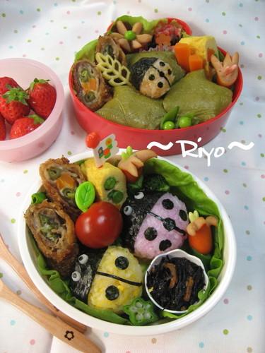 てんとう虫のお弁当~親子遠足弁当~