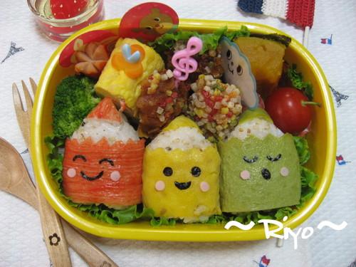色えんぴつ弁当(2)