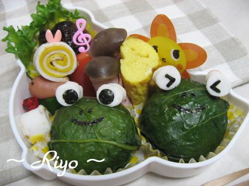 カエルちゃん弁当