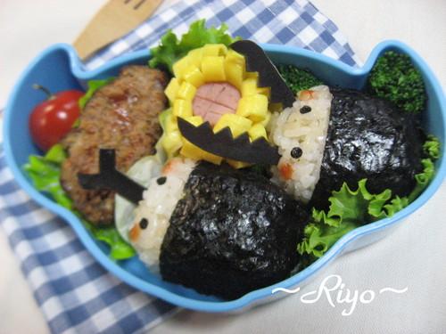 カブトムシ&クワガタムシのお弁当