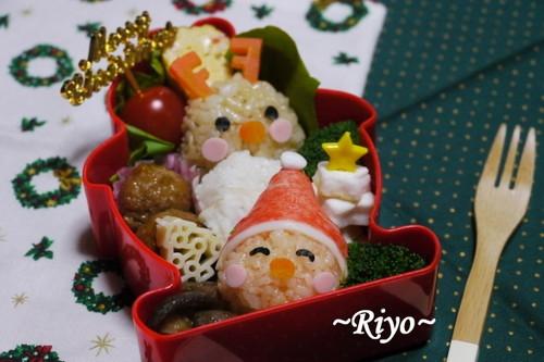 09クリスマス弁当